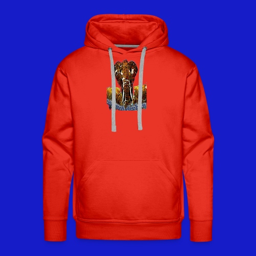 Designed elephant 🐘 - Men's Premium Hoodie