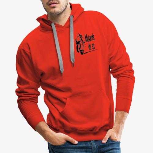 logo motards du 52 - Sweat-shirt à capuche Premium pour hommes