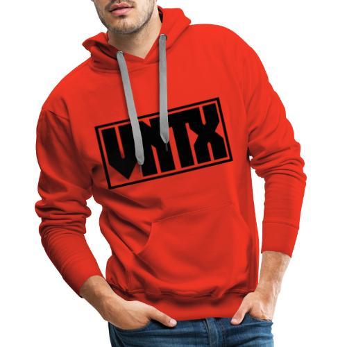 VNTX Logo Schwarz - Männer Premium Hoodie