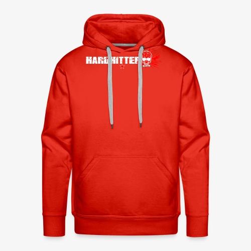 Hardhitter Logo für dunklen Hintergrund - Männer Premium Hoodie