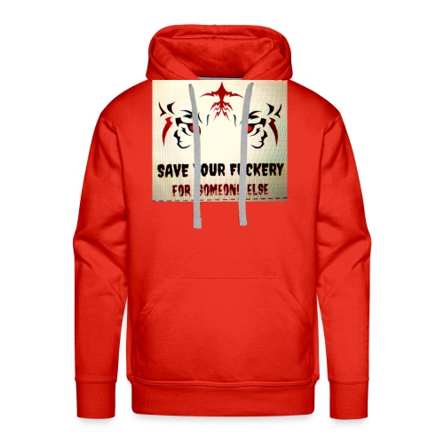 NO TIME FOR BS - Mannen Premium hoodie