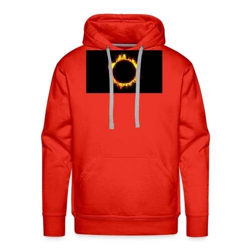 Flames - Herre Premium hættetrøje