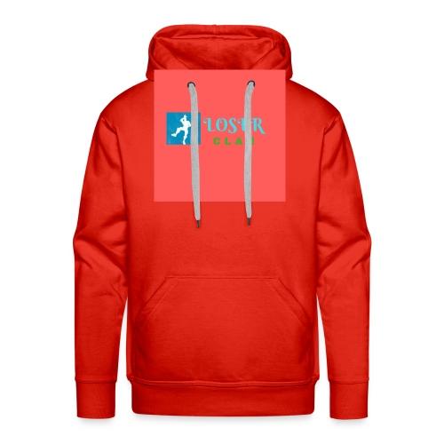 Logo ufficiale - Felpa con cappuccio premium da uomo