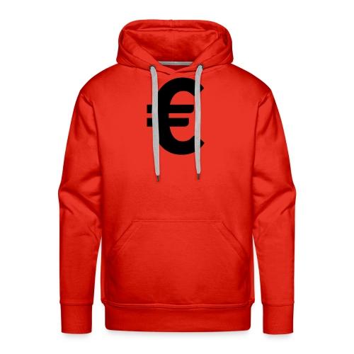 EuroBlack - Sweat-shirt à capuche Premium pour hommes