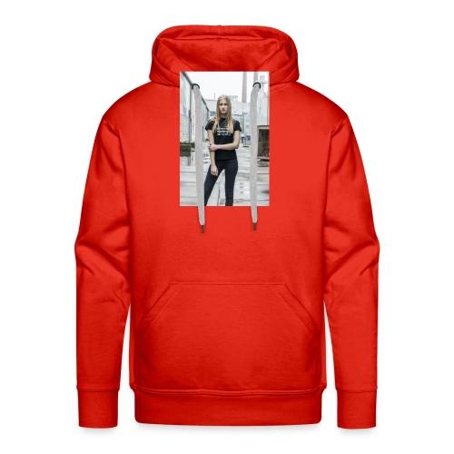 Severe t-shirt women - Sweat-shirt à capuche Premium pour hommes