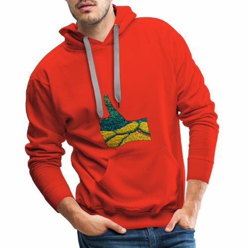 D'accord, c'est Ok - Sweat-shirt à capuche Premium pour hommes