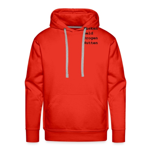 mushiflo name shirt back - Männer Premium Hoodie