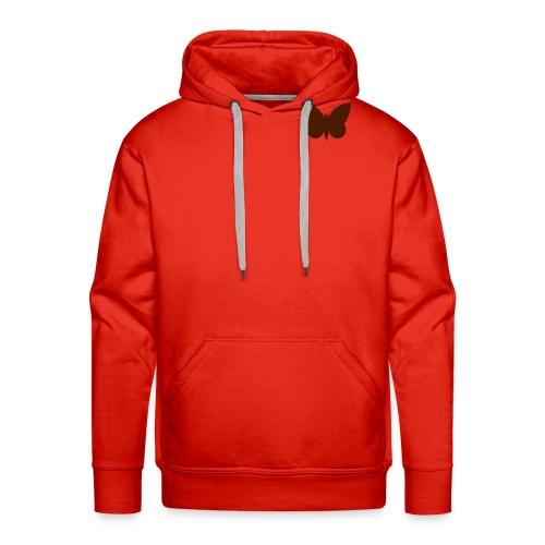 moth symbol vector - Men's Premium Hoodie