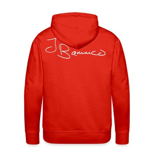 JoeyBamuco White Signature - Miesten premium-huppari