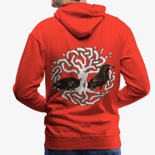 Terredizeaux - Sweat-shirt à capuche Premium pour hommes