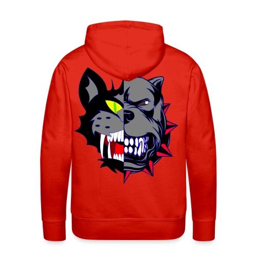 Catz Dog - Sweat-shirt à capuche Premium pour hommes