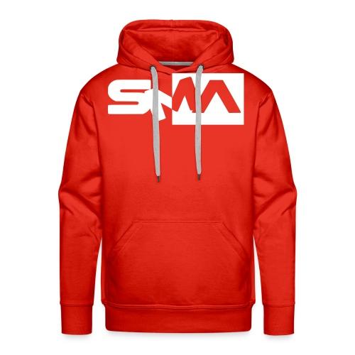 logocoeur - Sweat-shirt à capuche Premium pour hommes