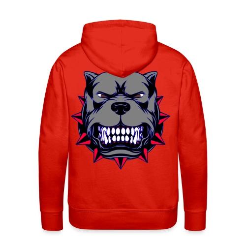 Dog - Sweat-shirt à capuche Premium pour hommes