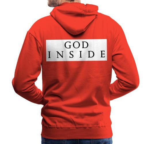 GOD INSIDE - Men's Premium Hoodie