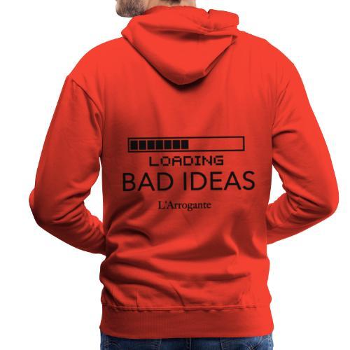 Loading Bad Ideas - Felpa con cappuccio premium da uomo