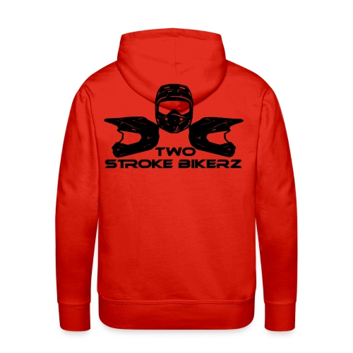 TSB Logo schwarz png - Männer Premium Hoodie
