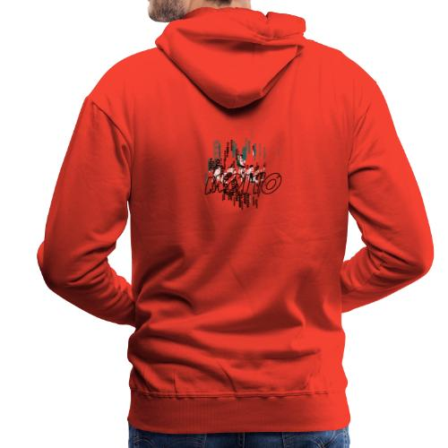 Moito Matrix - Sweat-shirt à capuche Premium pour hommes