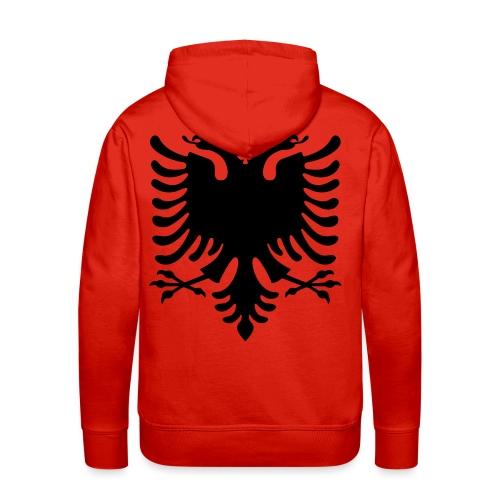 Albanische Flagge / Albanischer Adler / Shqiponja - Männer Premium Hoodie