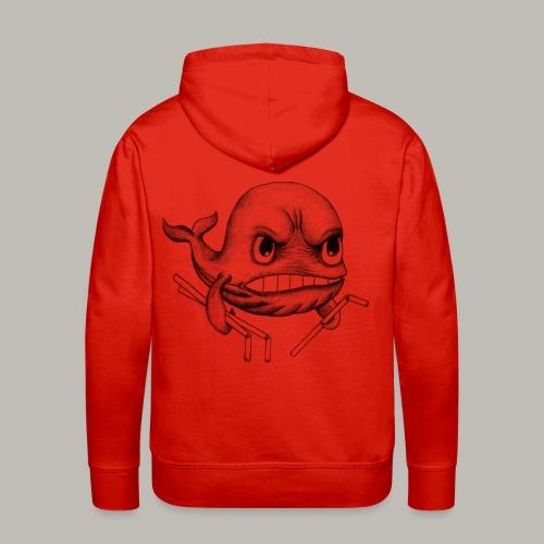 whaly 2 - Sweat-shirt à capuche Premium pour hommes