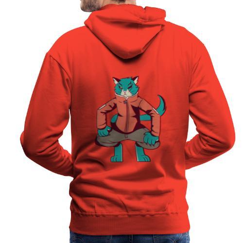 Mr cat - Sudadera con capucha premium para hombre