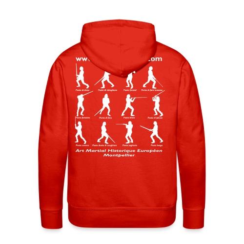 montagedos2013 2 png - Sweat-shirt à capuche Premium pour hommes