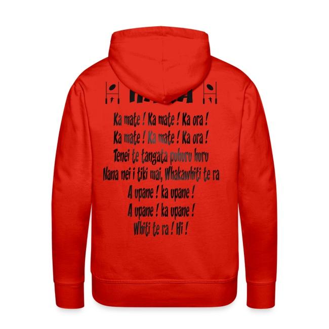 maori_haka_rugby_1 | Sweat shirt à capuche Premium pour hommes