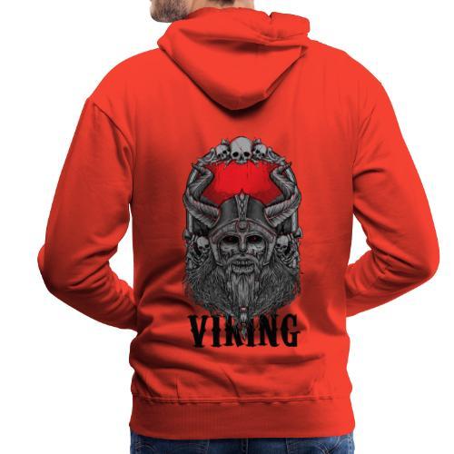 Viking Design 02 - Miesten premium-huppari