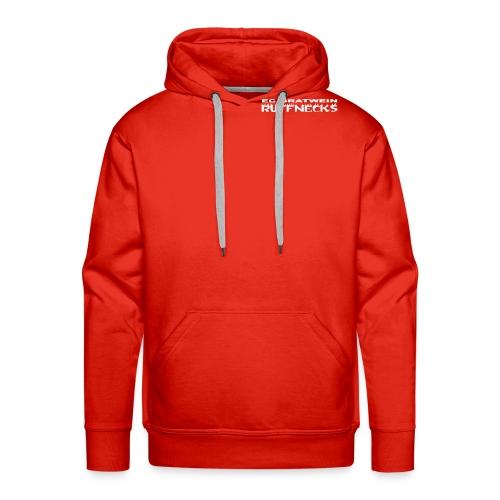 schriftzug ruff blk shirt - Männer Premium Hoodie