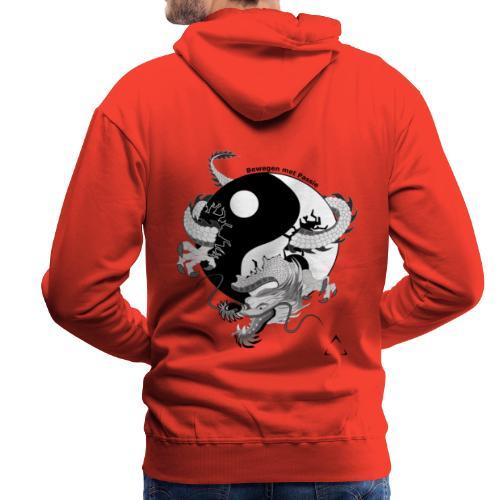 bewegen met passie - Mannen Premium hoodie