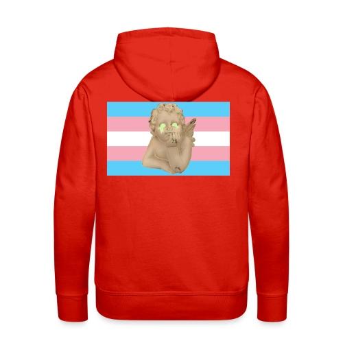 Transgender flag - Premium hettegenser for menn