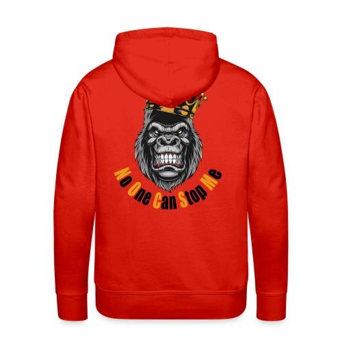 gym t-shirt (no one can stop me) - Männer Premium Hoodie