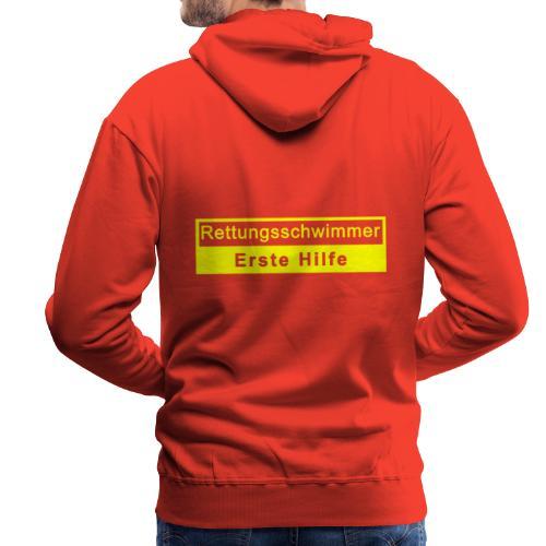 Rettungsschwimmer & Erste Hilfe - Männer Premium Hoodie