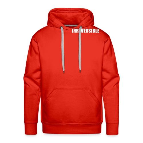 irreversible shirt font 02 - Men's Premium Hoodie