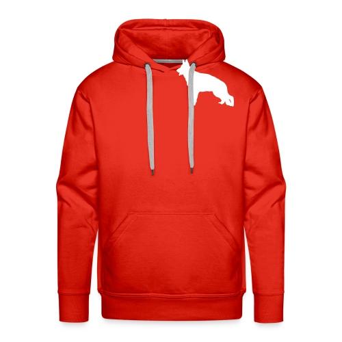 banoir vecto - Sweat-shirt à capuche Premium pour hommes