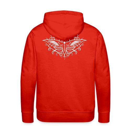 Butterfly - Sweat-shirt à capuche Premium pour hommes
