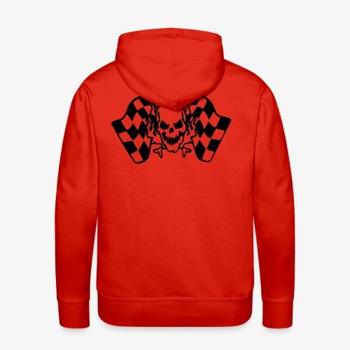 Racing Skull - Männer Premium Hoodie