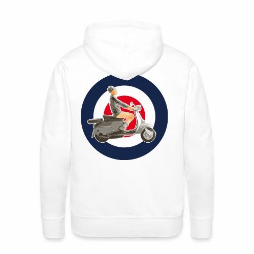 Scooter girl - Sweat-shirt à capuche Premium pour hommes