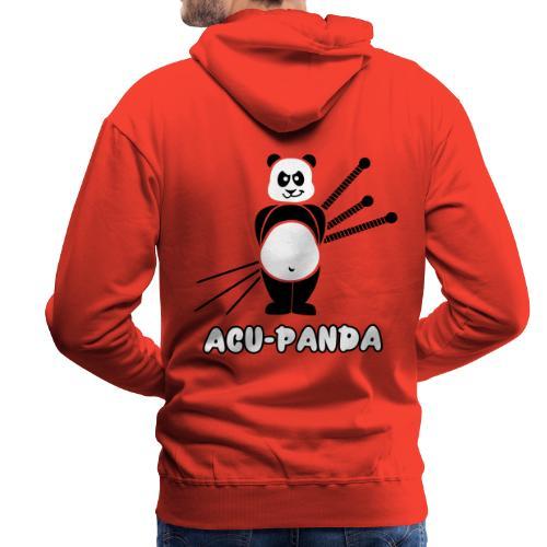 Acu-Panda - Sweat-shirt à capuche Premium pour hommes