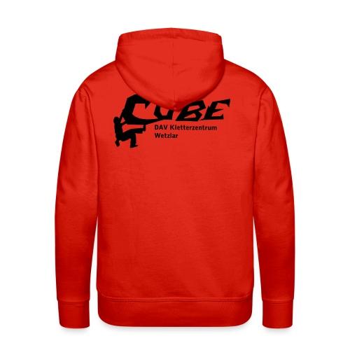 cubelogo - Männer Premium Hoodie