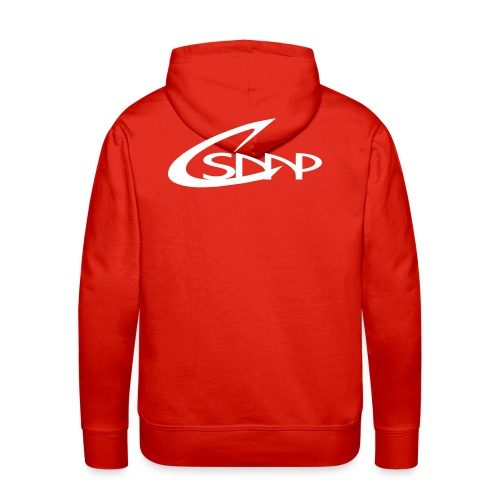 logo csmp simple - Sweat-shirt à capuche Premium pour hommes