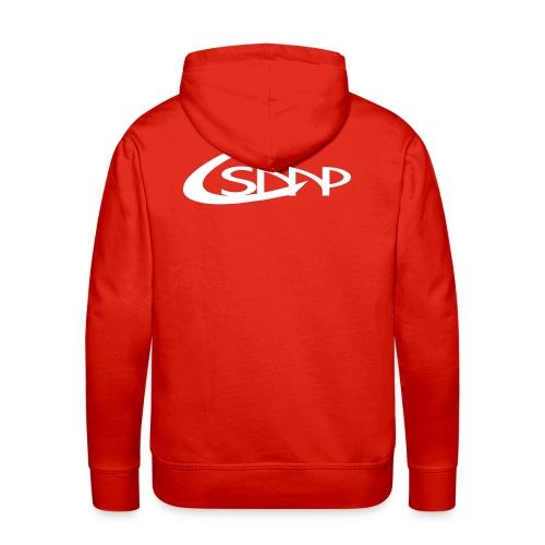 logo csmp simple - Sweat-shirt à capuche Premium pour hommes