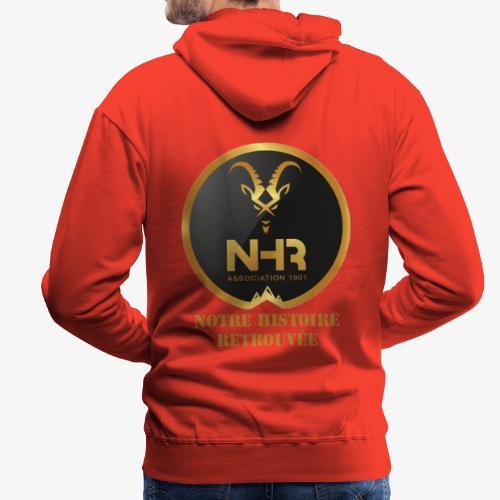 LOGO NHR - Sweat-shirt à capuche Premium pour hommes