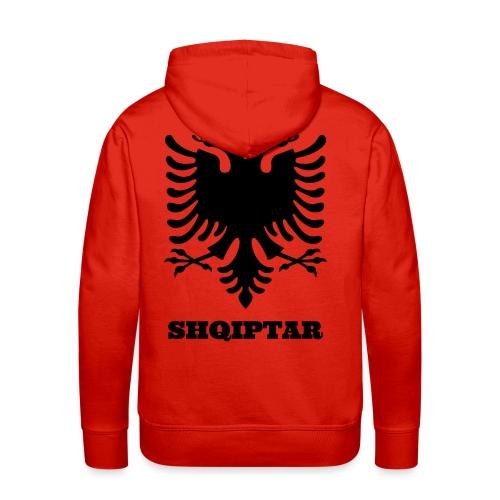 Shqiptar / Albanische Flagge / Albanien / Albaner - Männer Premium Hoodie