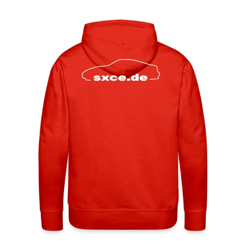 sxce black clean small new - Männer Premium Hoodie