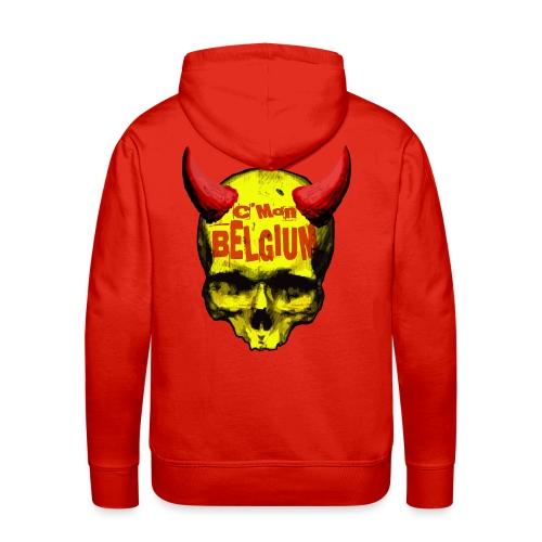 Belgium Devil 2 - Mannen Premium hoodie