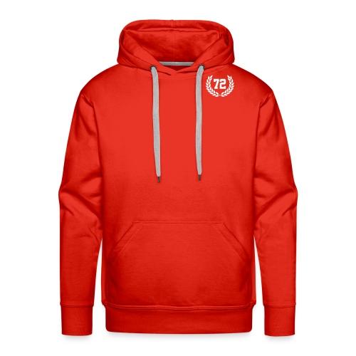 72 logo - Männer Premium Hoodie