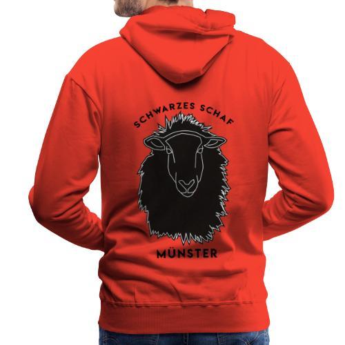 Schwarzes Schaf Logo & Schrift - Männer Premium Hoodie