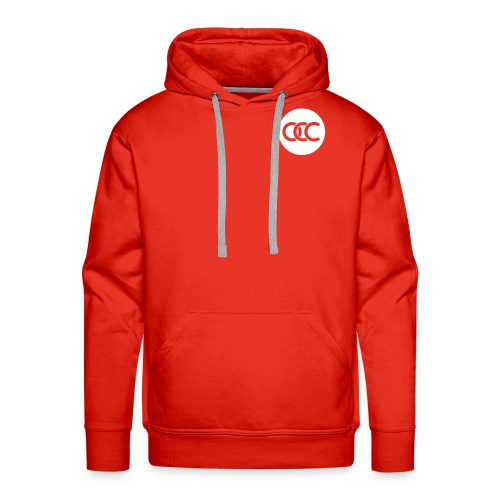 OCC ROND ROUGE - Sweat-shirt à capuche Premium pour hommes