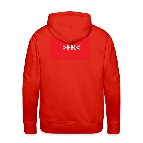>FR< - Herre Premium hættetrøje