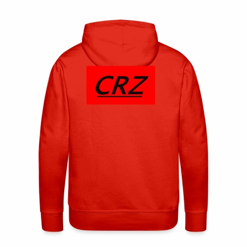 red crz patch - Men's Premium Hoodie